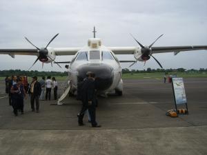 Tampilan depan CN-235 MPA