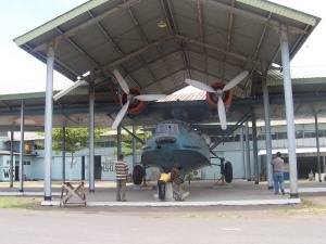 Catalina kini menjadi etalase Museum Dirgantara Yogyakarta