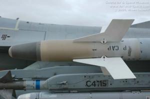 Moncong Sirip AIM-9 P4 Sidewinder