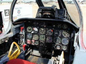 Kokpit F-86 Sabre