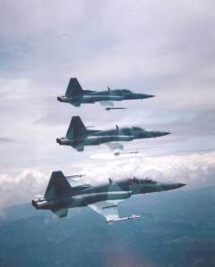 Formasi Tempur F-5 E