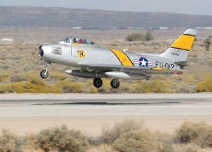 F-86 Sabre milik USAF
