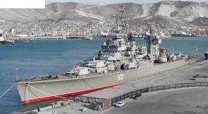 Kapal penjelajah sejenis KRI Irian, milik AL Rusia