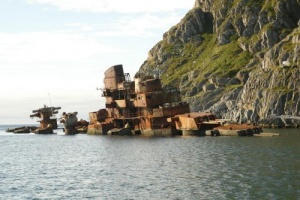 Sebagian kini ditenggelamkan untuk biota laut