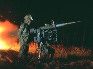 RBS-70 beraksi di malam hari