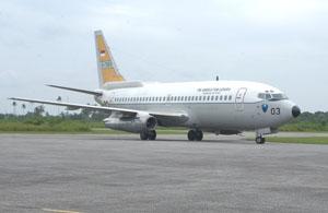 Boeing 737 Surveillance Skadron 5 TNI-AU