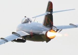 MIG-17 dengan afterburner