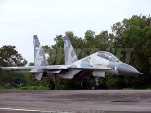 Su-30 Skadron 11 TNI-AU