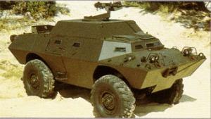 V-150 versi komando yang dilengkapi peralatan komunikasi canggih