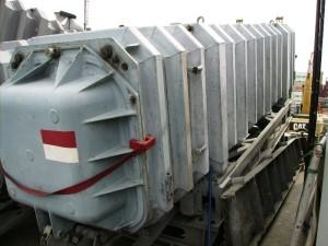 Container Exocet MM 38 di salah satu KRI