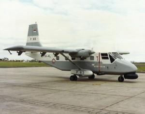 N24 Nomad Searchmaster dengan radar APS-104