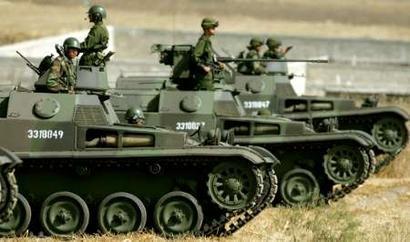 Formasi tempur AMX-13 VCI AD Argentina