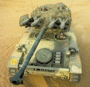 AMX-13 AD Perancis dengan rudal anti tank Steyr