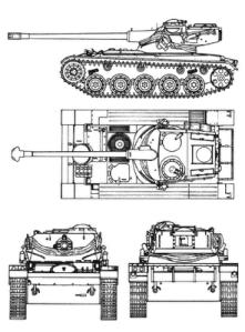 Tampilan 3 dimensi AMX-13