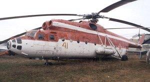 Mi-6 Rusia dalam warna merah putih, seharusnya Mi-6 bisa dijadikan monumen di Tanah Air
