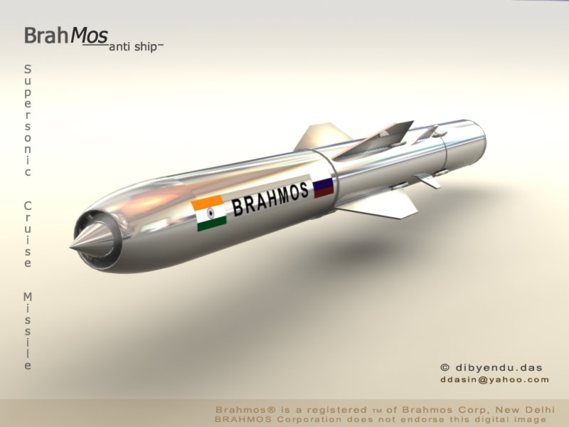 Brasil interessado no míssil de cruzeiro BrahMos