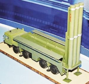 Model truck pengangkut/pelontar Yakhont
