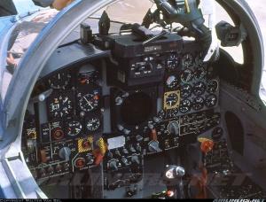 Visual kokpit F-5E Tiger II
