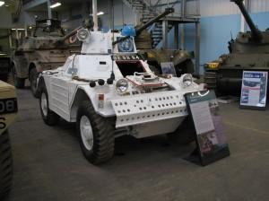 Ferret juga digunakan sebagai kendaraan pasukan PBB