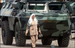 VAB TNI AD di wilayah operasi