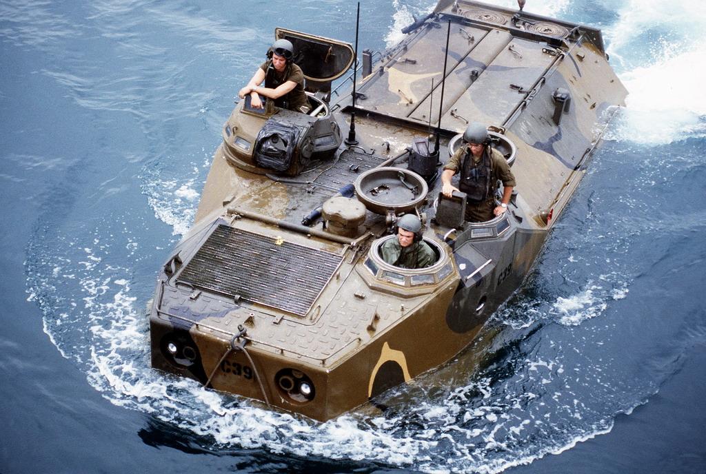 LVTP-7 : Pendarat Amfibi Korps Marinir TNI-AL