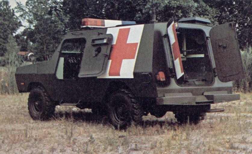 Commando Ranger versi Ambulance