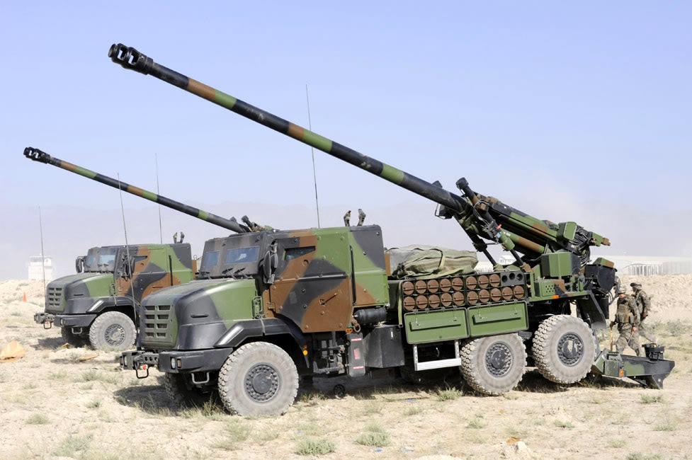 TRF-1 CAESAR : Generasi Ketiga Self Propelled Howitzer TNI AD