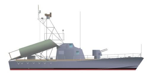 Kapal cepat kelas Komar yang digunakan oleh TNI AL, peninggalan operasi Trikora