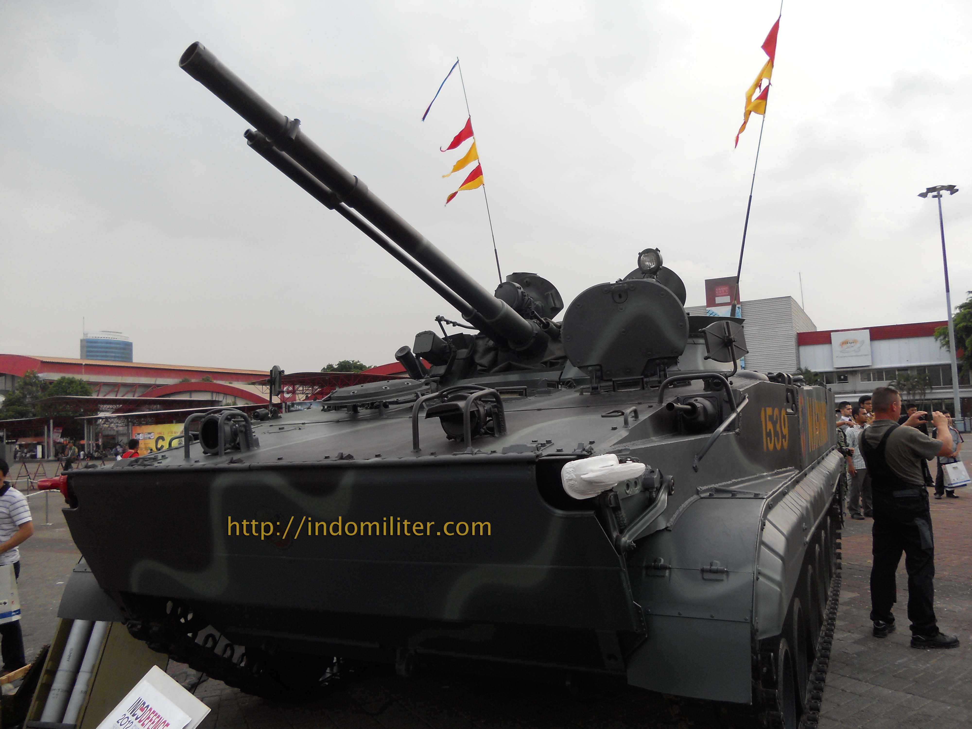 Tank BMP-3F