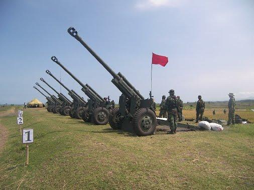 Uji tembak KH-178 oleh TNI AD