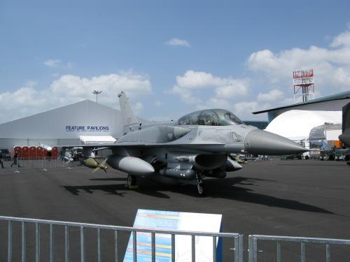 F-16 D Block 52 AU Singapura