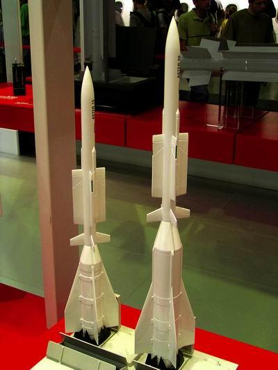 Rudal Aster, salah rudal anti serangan udara andalan pada frigat kelas Formidable
