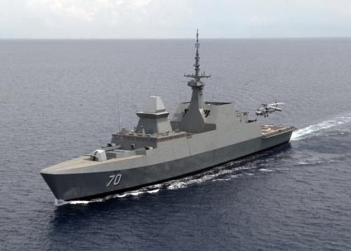 Frigat berkemampuan stealth kelas Formidable