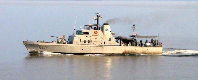 KRI Sibarau 847, ex- HMAS Bandolier (P95)