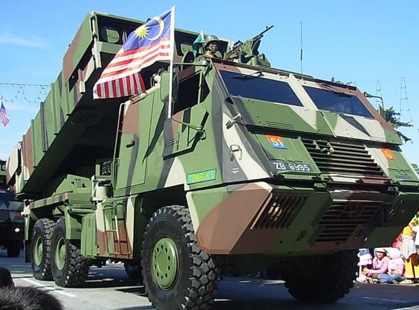ASTROS II MK5 milik AD Malaysia