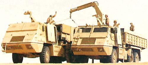 Proses reload amunisi pada ASTROS II
