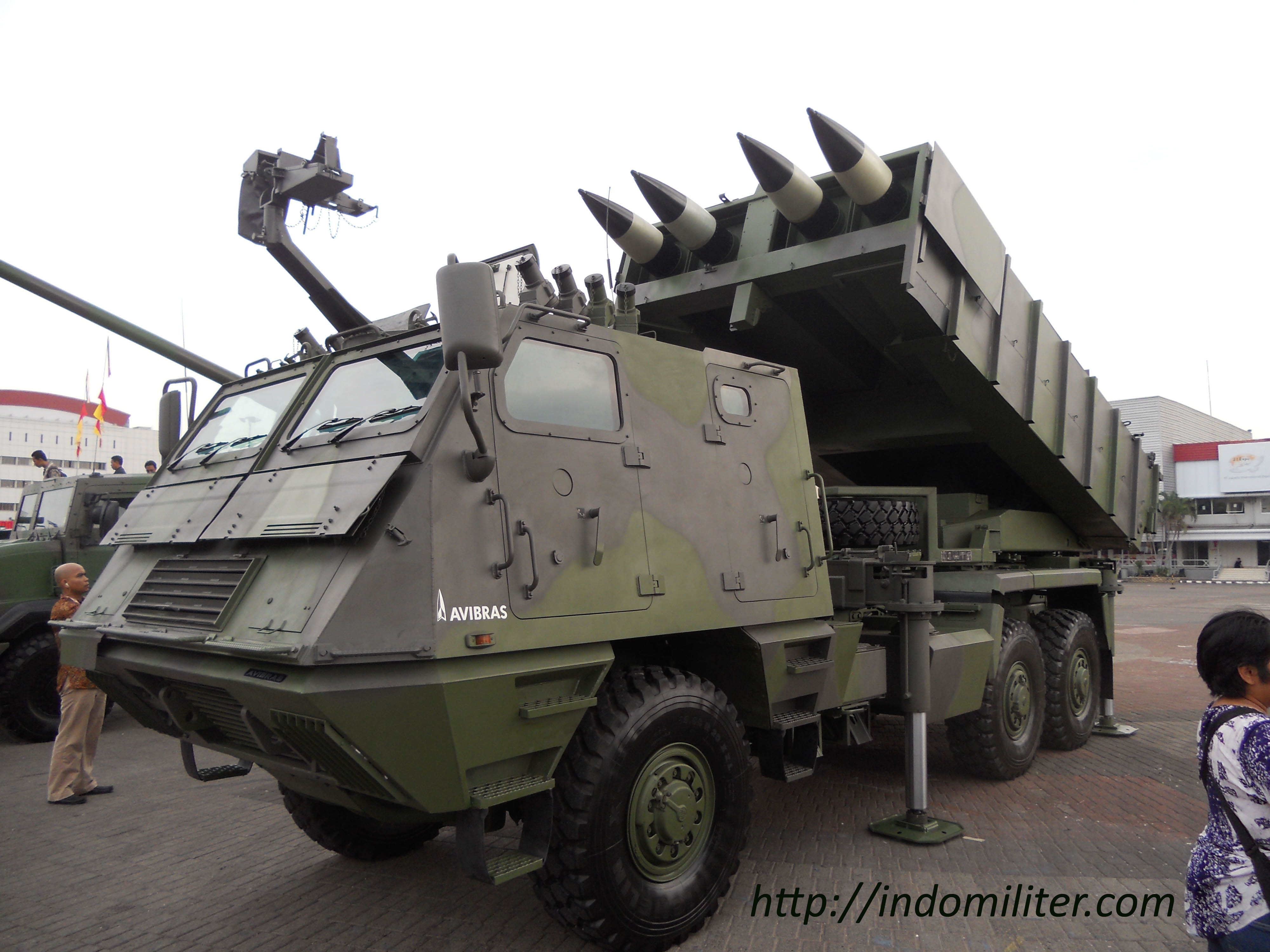 ASTROS II at Indo Defence 2012