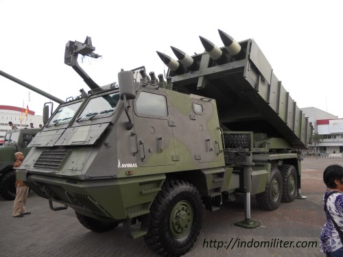 ASTROS II at Indo Defence 2012