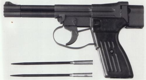 SPP-1, pistol bawah air