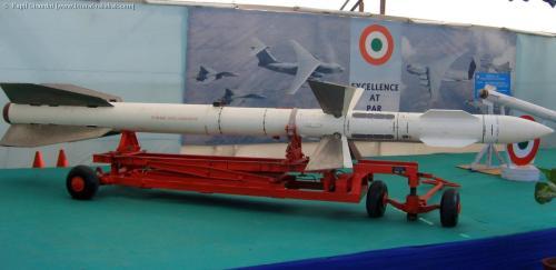 Sosok R-27 milik AU India