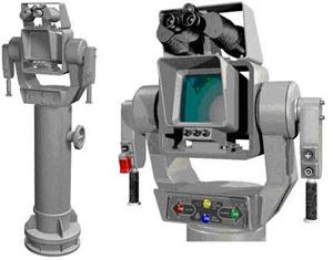 Perangkat TDS, berada di anjungan dan dioperasikan oleh seorang awak.