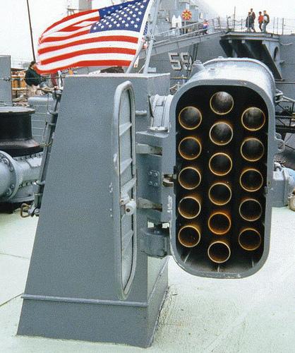 Chaff/flare dispenser, sarana pertahanan pasif kapal perang dari serangan rudal anti kapal dan rudal udara ke permukaan (air to surface missle)