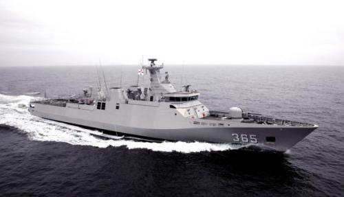 KRI Diponegoro 365, salah satu kapal perang TNI AL dengan Sewaco mutakhir