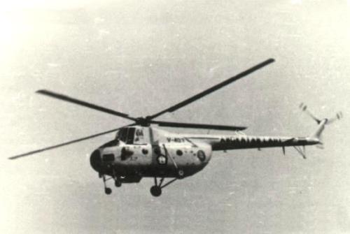 Foto dokumentasi Mi-4 Penerbal TNI AL