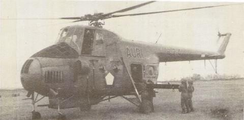 Mi-4 milik TNI AU (AURI)