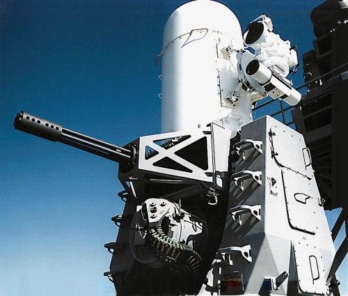 Phalanx CIWS 20 mm buatan AS, punya jangkauan efektif 3.600 meter dan kapasitas amunisi 1.550 peluru. Kecepatan tembak 4.500 proyektil per menit.