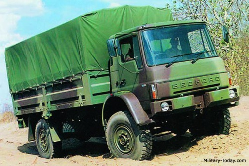 Bedford MT versi general purpose 4x4