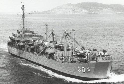 USS Askari, sesudah menjadi milik TNI AL pada tahun 1971, berganti nama menjadi KRI Jaya Wiaya. Repair ship kelas Achelous ini digunakan AS pada perang Korea dan perang Vietnam.
