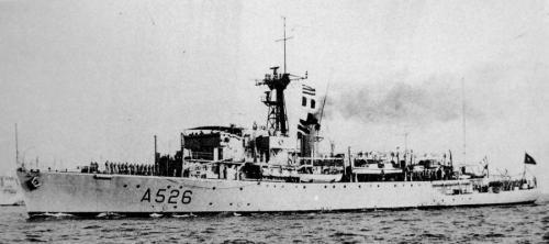 NRP Alfonso de Albuquerque,frigat milik AL Portugal yang dilengkapi beragam kanon dan bom laut.