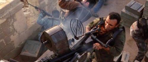 Oerlikon 20mm beraksi dalam film Stealth